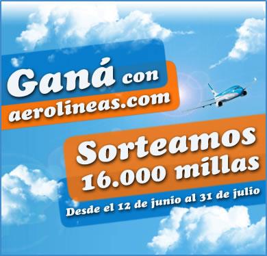 Promo Ganá en aerolineas.com!