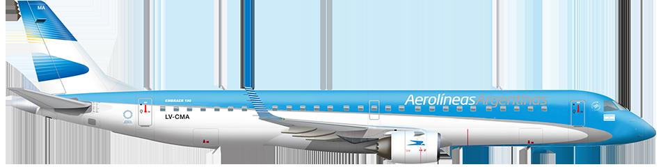 Avión Embraer 190