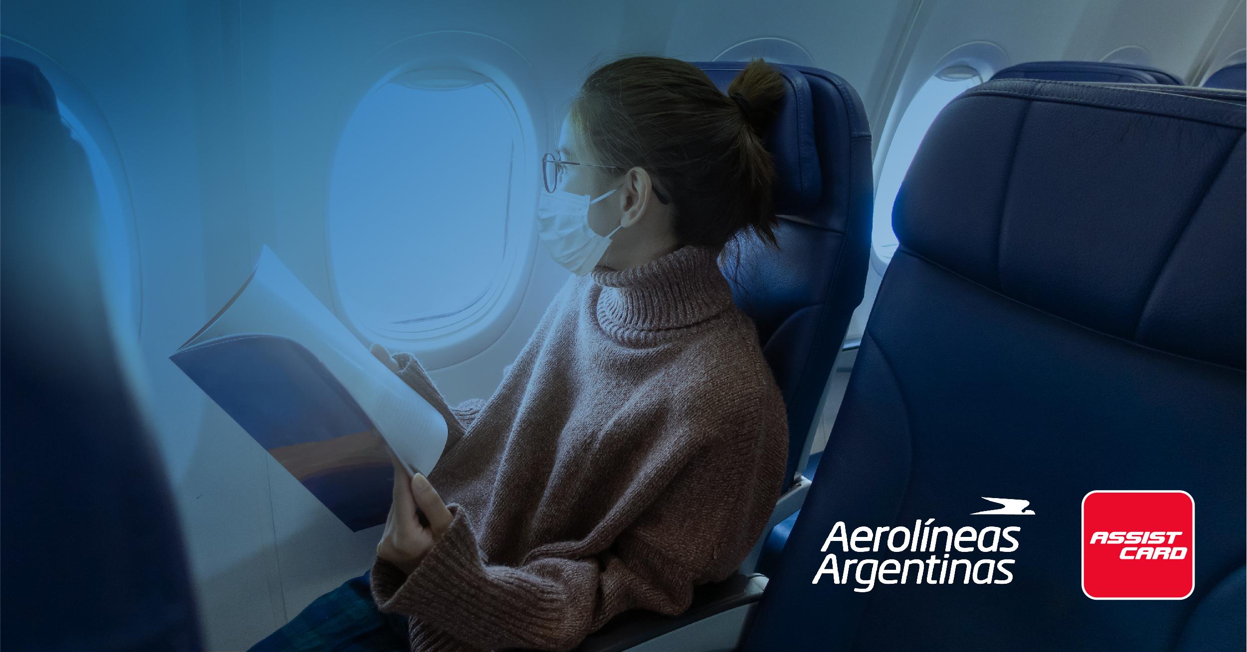 Aerolíneas argentinas y Assist card amplían beneficios a sus viajeros en  épocas de covid-19